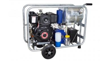 Diesel powered